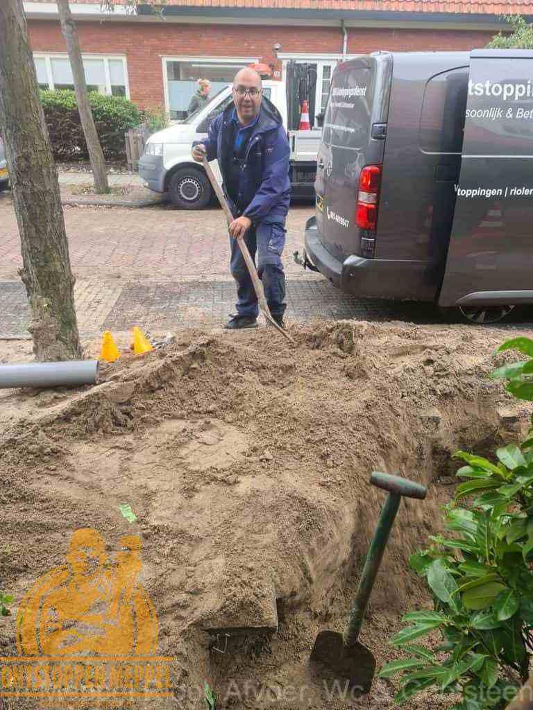 Riool ontstoppen Meppel graven